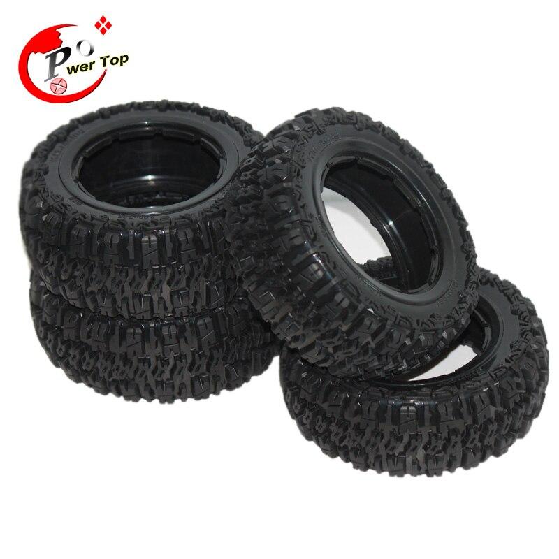 King Motor Baja T1000 Pioneer tire Tyre set for HPI BAJA 5T Parts Rovan Free Shipping