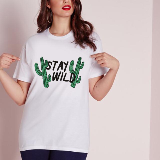 Stay Wild Cactus T-shirt