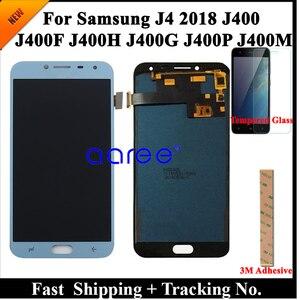 Image 2 - 100% teste display lcd para samsung j4 2018 j400 lcd j400f lcd para samsung j4 2018 j400f tela de toque digitador assembléia