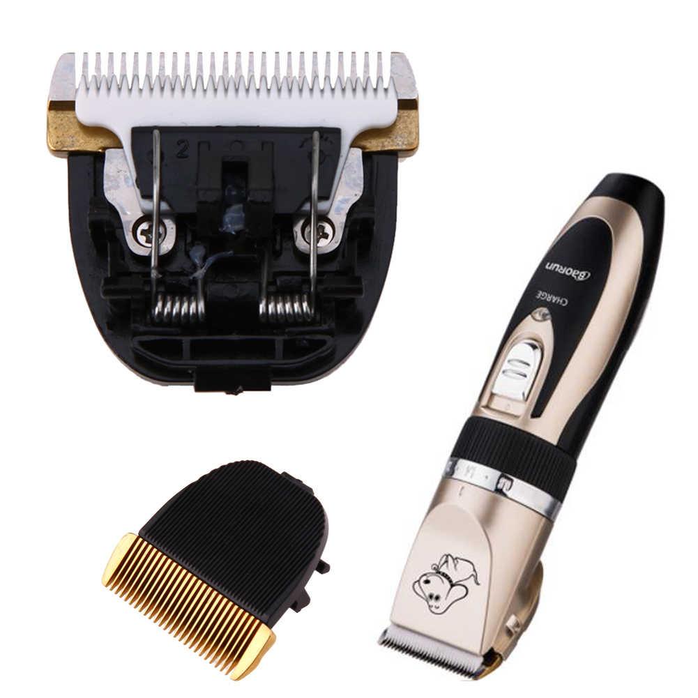 プロフェッショナルペット犬猫バリカン刃カット頭髪トリマーステンレス鋼セラミックス毛づくろい刃カットヘッド E5M1