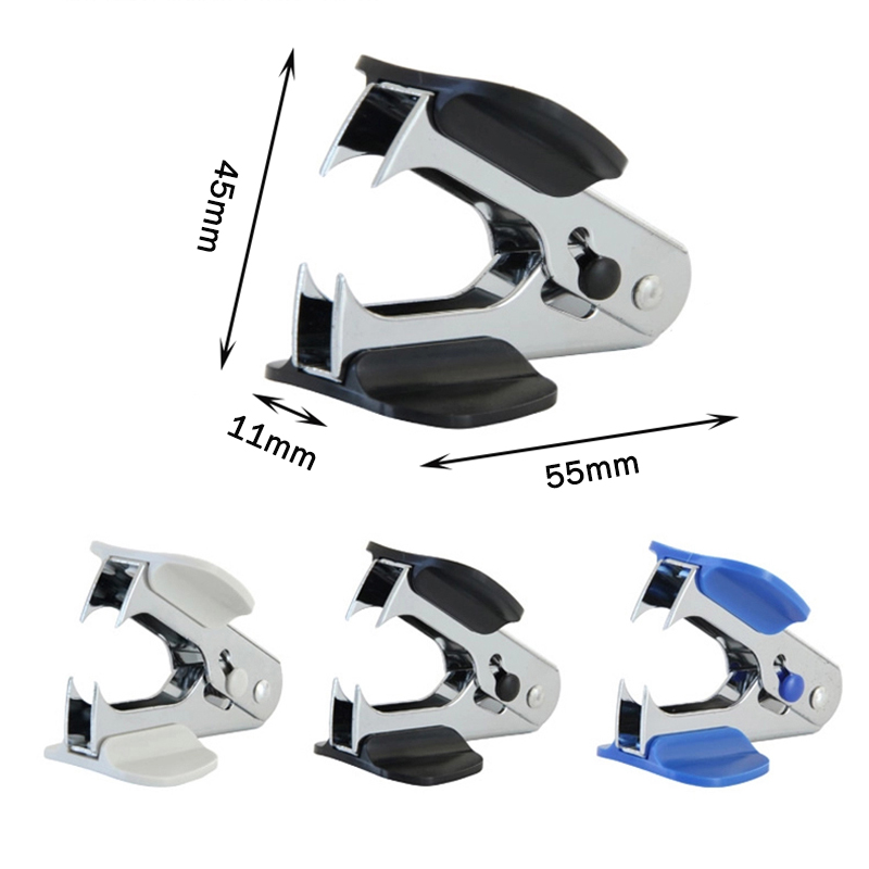 Staple Removing Stationery Supplies New Advanced Mini Portable Standard Metal Staple Remover For Office And School 1pcs