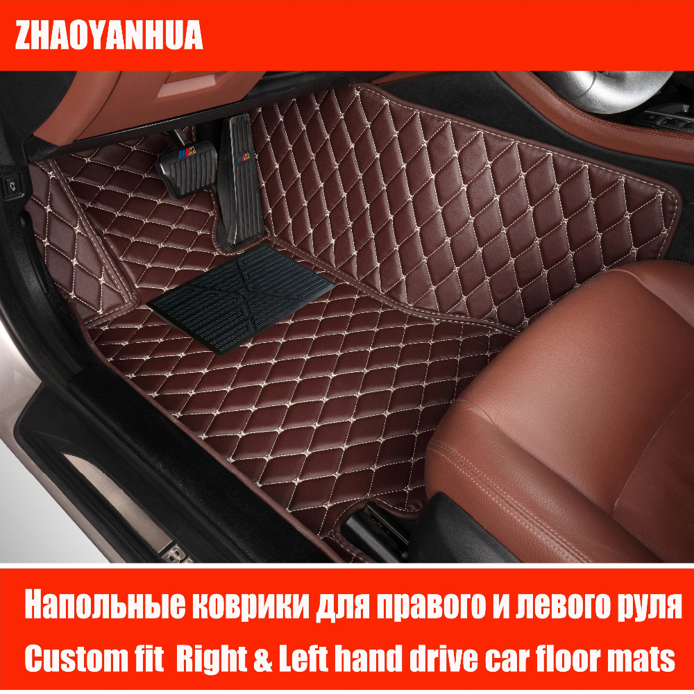 Custom car floor mats made for honda crosstour 6d heavy duty good foot case car