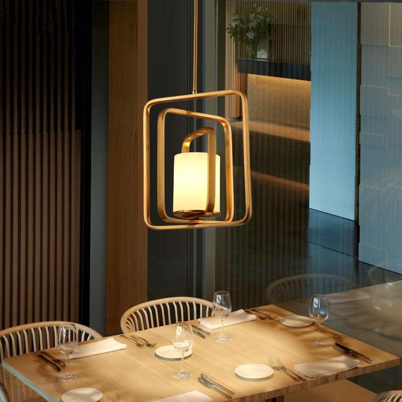 Nordic Postmodern Designer hanging lights Restaurant Lamps Bedroom Pendant Light Bar Cafe Pendant Lights