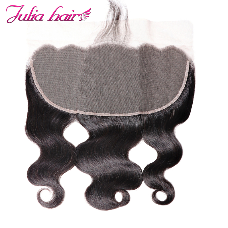 Ali Julia Hair 13 6 Inch Lace Frontal Brazilian Body Wave Frontal With Baby Hair Soft