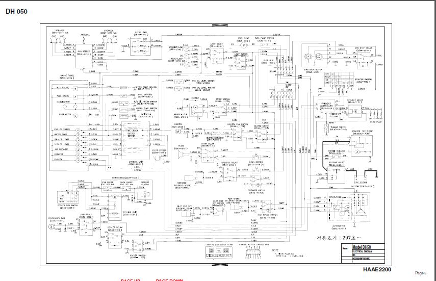 daios doosan hidraulic and circuit diagrams 2018 for all doosan rh aliexpress com Boat Wiring Diagram Trailer Wiring Diagram