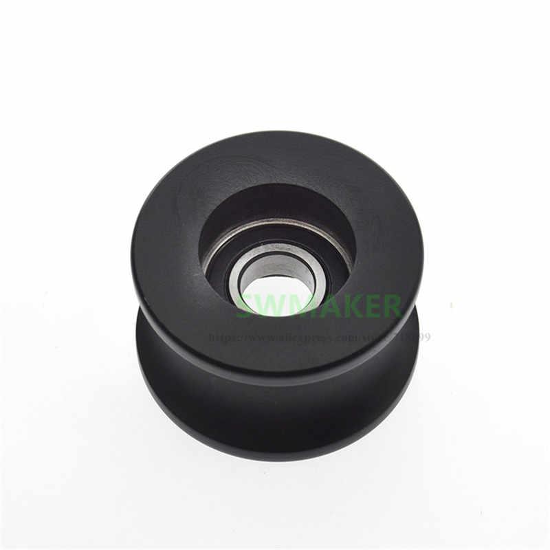 1 sztuk 10*39*24mm 6900RS koło pasowe łożyska, w kształcie litery U wałkowe z powłoką z tworzywa sztucznego łożyska o średnicy 20mm, aby śledzić R10 przewodnik koła