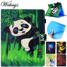 Wekays чехол для apple ipad mini 4 с рисунком панды кожаный