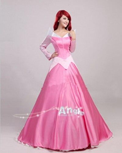 Sleeping Beauty Snow White Princess Birthday Gift Ice Snow Queen Party Costume Cosplay Elsa&Anna Dress Adult Girls Cinderella
