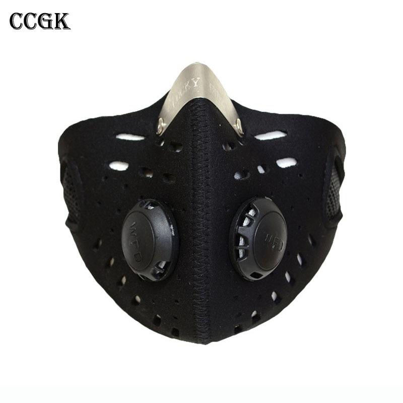 ①Anti-polvo bicicleta máscara viento cálido protección media ...