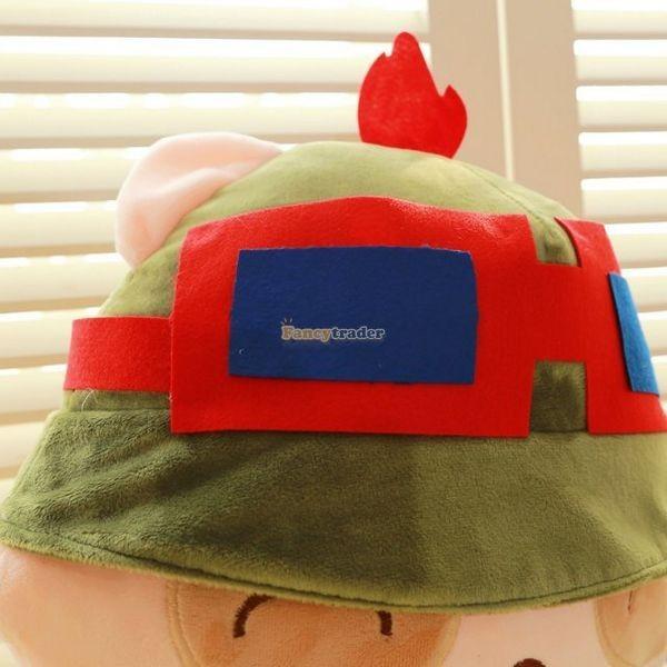 Fancytrader 33\'\' 85cm Super Cute Soft Plush Biggest LOL Teemo Toy, Free Shipping FT50149 (7)