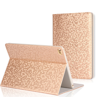 Bling Luxury Cover Case For Apple IPad Ultra Slim PU Leather PC Back Cases For IPad