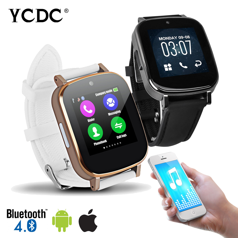 YCDC font b SmartWatch b font Z9 Clock Sync Sim Push Message Bluetooth Connectivity Smart Watch