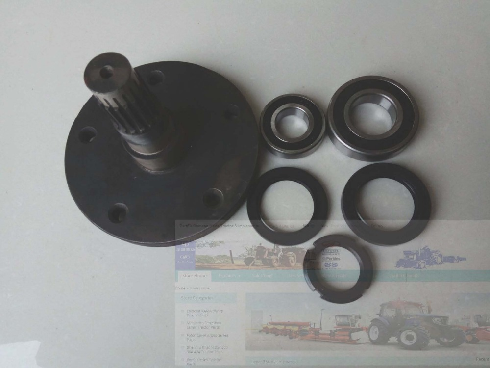 FS254 Lenar 254 II 274II tractor parts, the front drive shaft with accessories, part number: 18.31.801