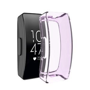Image 3 - Soft Smart Watch Replacement TPU Case For Fitbit Inspire HR Full Cover Screen Protector For Fitbit Inspire HR Watch Accessories
