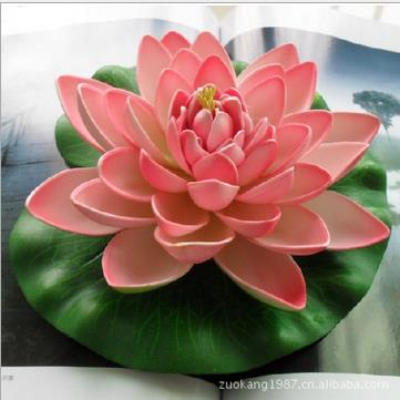 Hot sale 18cm beautiful artificial lotus flower floating water hot sale 18cm beautiful artificial lotus flower floating water flowers for christmas wedding party decoration supplies in artificial dried flowers from mightylinksfo