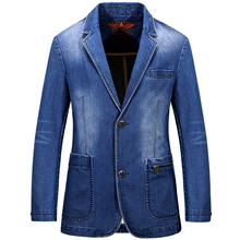 2016 new autumn solid slim fit mens single breasted trench coat denim jeans outwear windbreaker