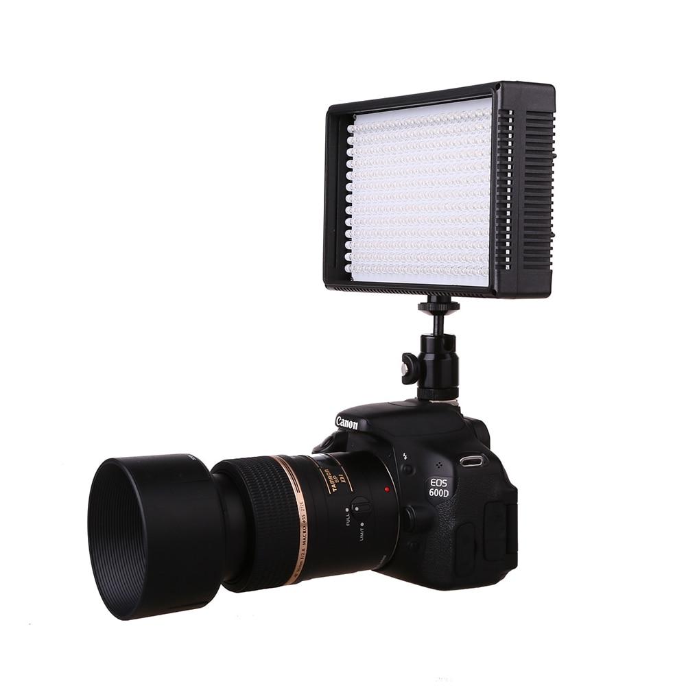 On-camera LED Video Light Lamp Photo Studio Dimmable Lighting for DSLR Phone