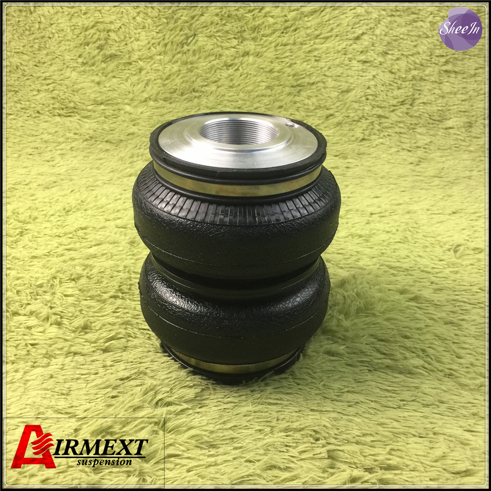 SN142156BL2-JM2-S/AIRLIFT5814 Fit JOM coilover(Thread M53*2-51)Air suspension Double convolute rubber airspring/airbagSN142156BL2-JM2-S/AIRLIFT5814 Fit JOM coilover(Thread M53*2-51)Air suspension Double convolute rubber airspring/airbag