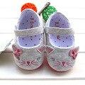 2016 nova moda sapatos respirável meninas sola macia antiderrapante criança sapatos primavera e outono feminino chaussure bebe