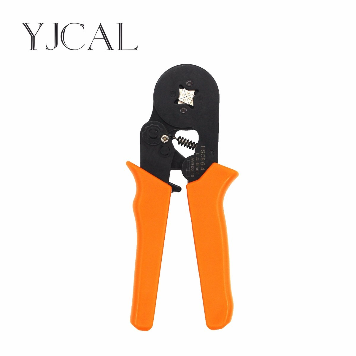 Portable Self-adjusting Crimping Press Plier HSC8 6-4 Wire Ferrule Crimp Tool Cable End Ferrules Terminal Tube Multi Hand Tool
