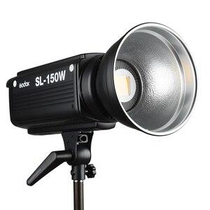 Image 2 - Godox SL 150W 150WS 5600 K الأبيض النسخة لوحة ال سي دي LED الفيديو الضوئي المستمر الناتج إضاءة الاستوديو الشحن DHL