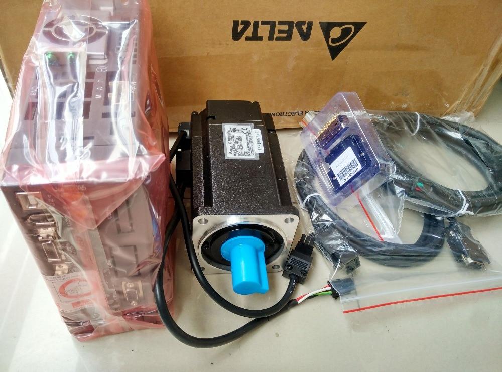 ECMA-C10807RS ASD-A2-0721-L Delta AC Servo Motor & Drive kits 750w 3000r/min with 3M cable new stock offer servo driver mr j3 70a 5 2a 750w 2 4nm 3000r min