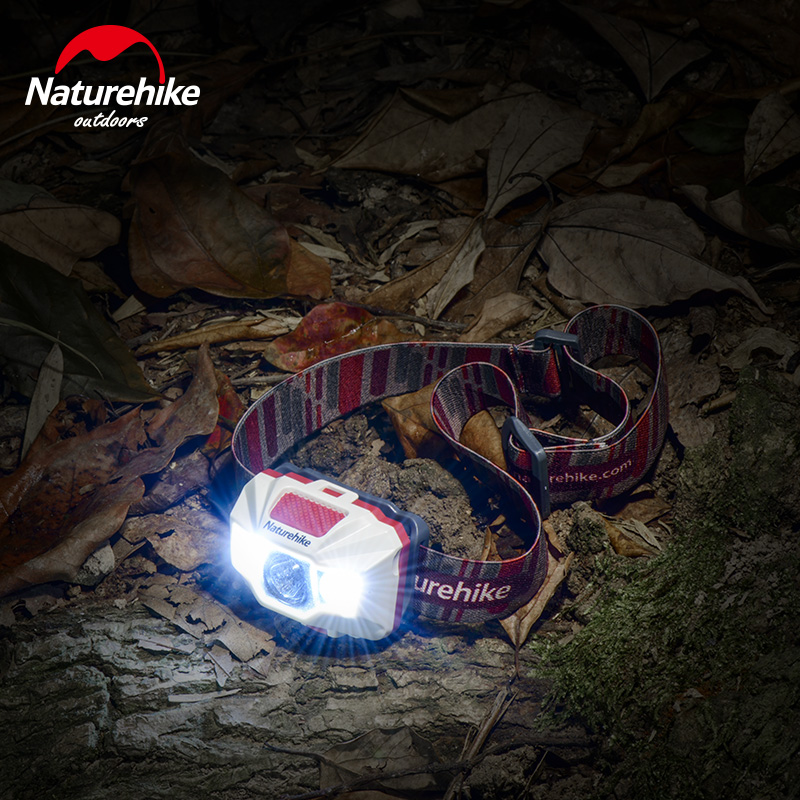 Naturehike USB Recharg Headlamp 4 Modes Headlight for Outdoor Fishing Camping Cycling Hiking 4