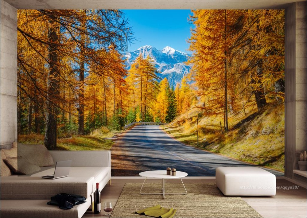 Large Wallpaper 3d European Style Forest Landscape 3d Mural Wallpaper Nature Living Room Backdrop Wall Hotel Home Decor landscape 3d ceiling smallpox large mural wallpaper ktv hotel bedroom living room backdrop wallpaper