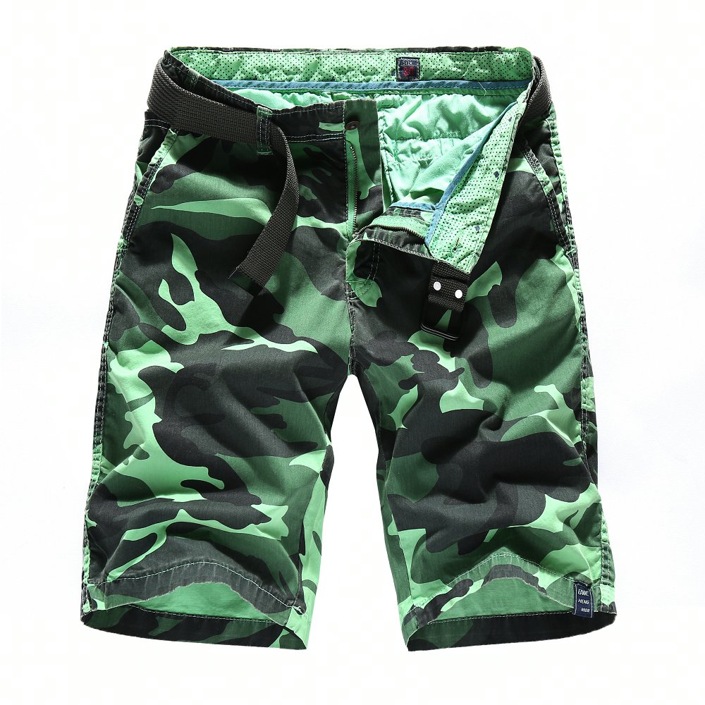 Camouflage Camo Cargo Shorts Men 2018 New Mens Casual Shorts Male Loose Work Shorts Man Military Short Pants Plus Size 30-40