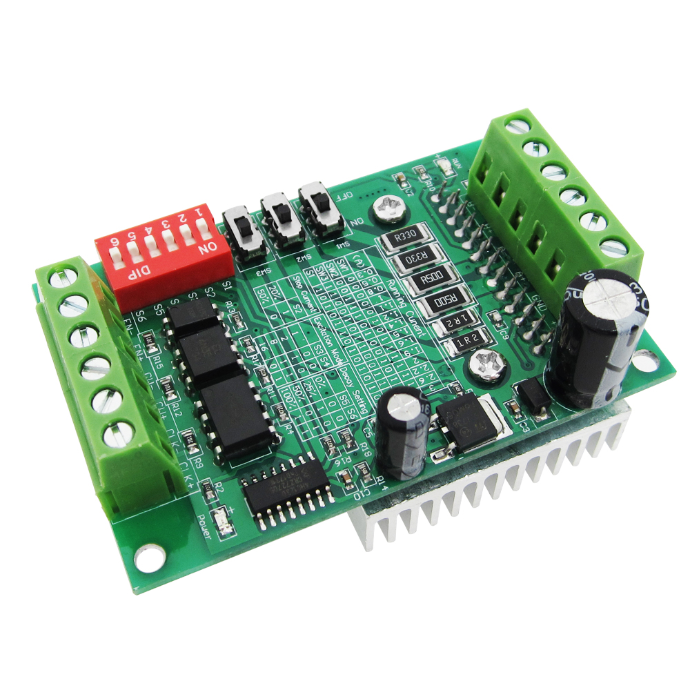 10pcs/lot TB6560 3A stepper motor driver stepper motor driver board axis current controller 10 files-in 3D Printer Parts & Accessories from Computer & Office    1