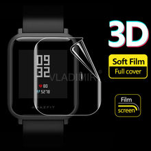 DAHABY Soft TPU Film Screen Protector For Xiaomi Huami Amazfit Bip Youth Verge 3 Stratos 2 Smart Watch Clear Guard Not Glass(China)