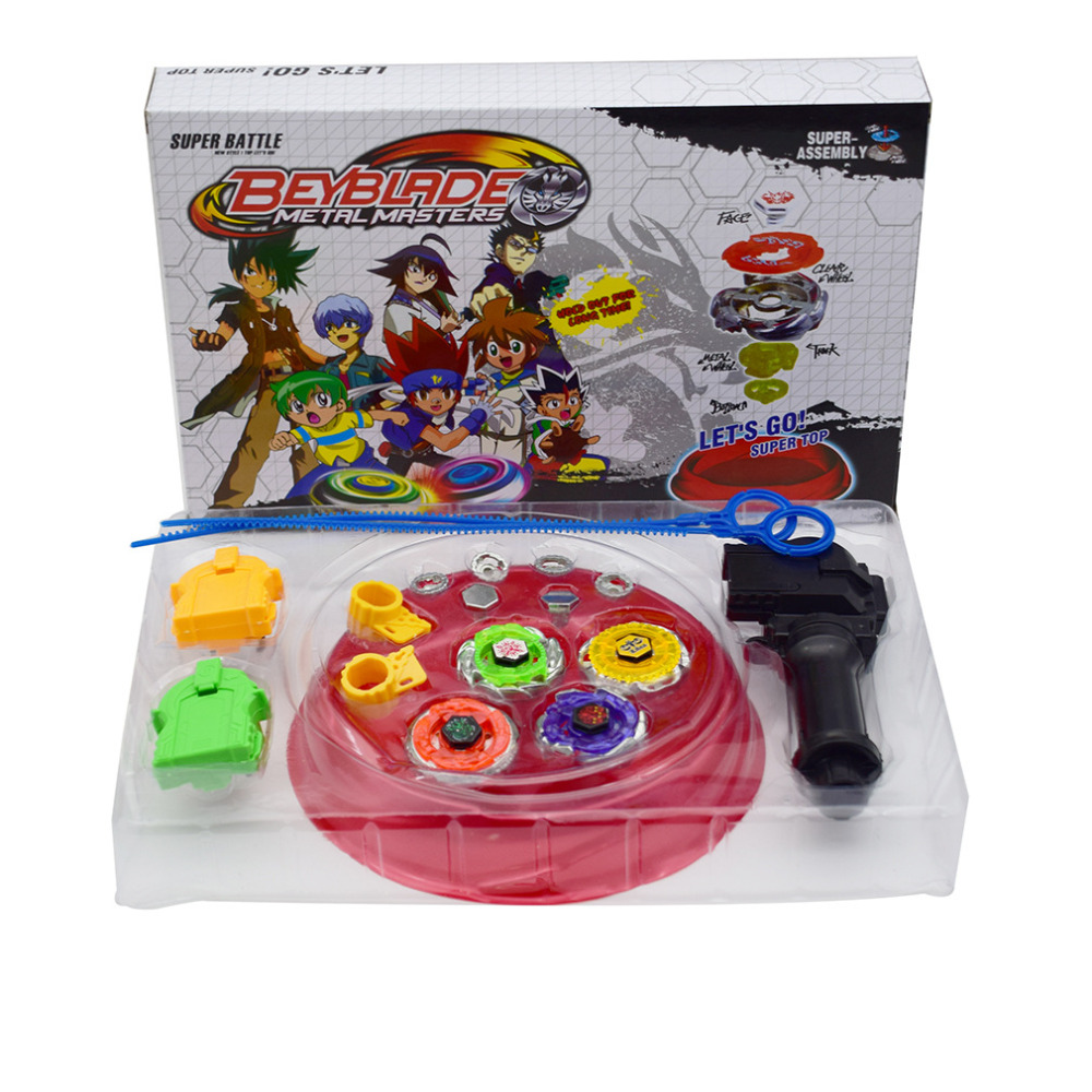 Children Toys precision Gyroscope Top Fusion Mental orbiter toupie Spinner Bearing Titanium Beyblade Launchers of gifts