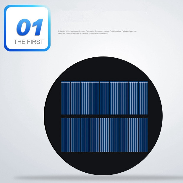10pcs/lot 5V 100mA PET Round Solar Cell Diameter 88.5mm High Quality Solar Panel For DIY Toy and Solar Light