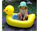 Envío gratis Abc bebé bañera inflable pequeño bebé niño pato cuenca bañera baño bebé engrosamiento