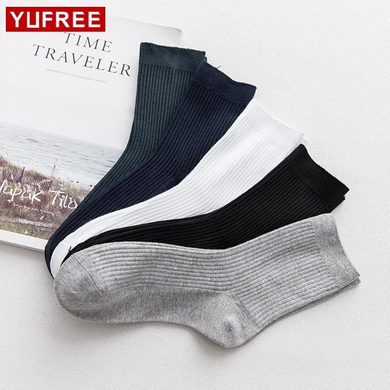 High Quality New Arrival Brand 1 Pairs Men Socks Cotton Classic Business Mens Socks Deodorant Dress Socks HE103