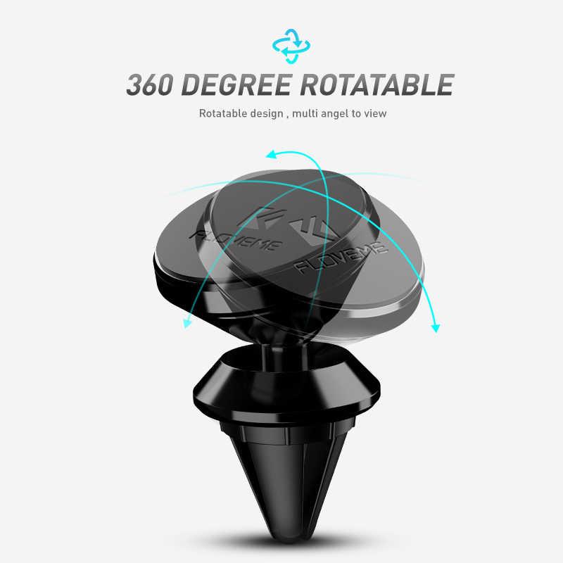 FLOVEME מגנטי לרכב עבור iPhone סמסונג 360 אוויר הר מגנט מחזיק Stand עבור טלפון נייד ברכב GPS מחזיקי הר