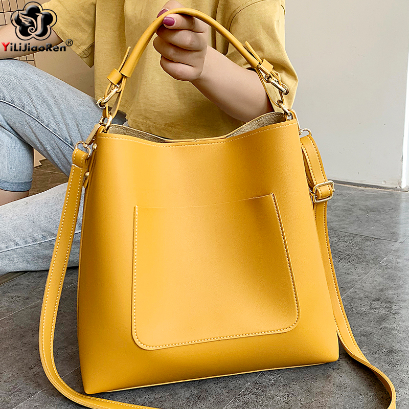 Fashion Ladies Handbags Sets Womens Purses And Handbags Pu Leather Crossbody Bags For Women Large Capacity Shoulder Bag Female