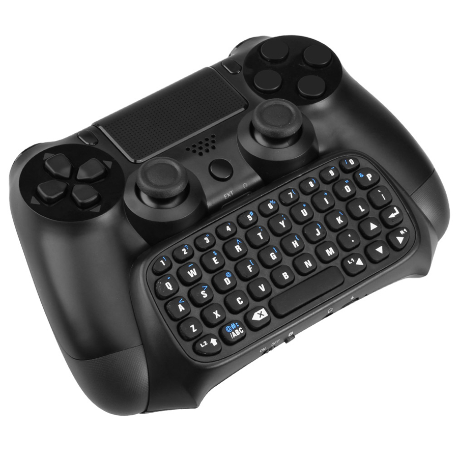 Activo Teclado Inalámbrico Bluetooth Chatpad Para Ps4 Controlador Gamepad Para Playstation 4 Controlador Juego Ps4 Accesorios
