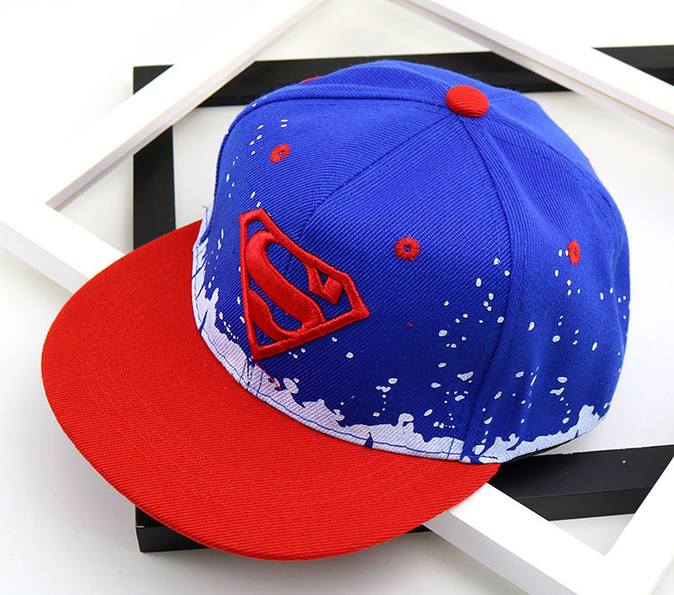Color : Batman Baby Baseball Cap Baby Hip Hop Hats Child Superman Hat For Boy Girl Snapback Caps Fashion Spiderman Sun Hat Birthday Christmas