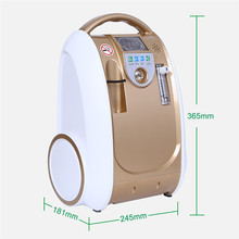 1-5L/min OLV-B1-Gold Oxygen Generato Concentrator Generator Air Purifier Adjustable Portable Oxygen Machine O2 Supply Machine bmc purifier home use remote control o2 generator o2 concentrator medical machines with 220v europen standard powercord