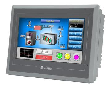 "7"" 800x480 Ethernet Adjustable Brightness HMI XINJE TE765-ET New + USB program download Cable"