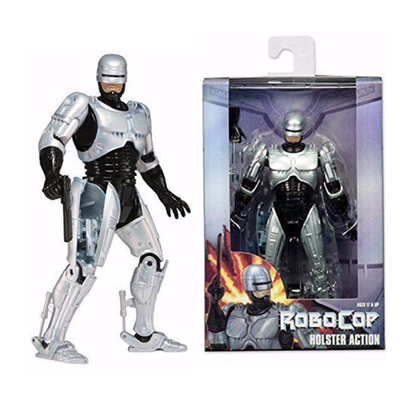 """7"""" <font><b>Robocop</b></font> Warrior <font><b>Action</b></font> <font><b>Figure</b></font> Body with Spring Loaded Holster Model Toys Kids Gifts Collections"""