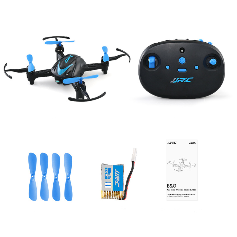 JJRC H48 MINI RC Drone 2.4G 4CH 6 Axis 3D Flips RC Quadcopter RTF VS H36 Drone for Kids Children Christmas Gift dropshipping(China)