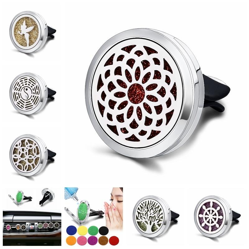 Car Air Freshener Car Perfume Diffuser Clip Car Auto Vent Freshener Essential Car Accessories / Ornaments  C012