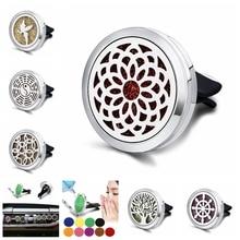 Carro ambientador de ar do carro perfume difusor clipe carro auto ventilação ambientador essencial acessórios do carro/ornamentos c012