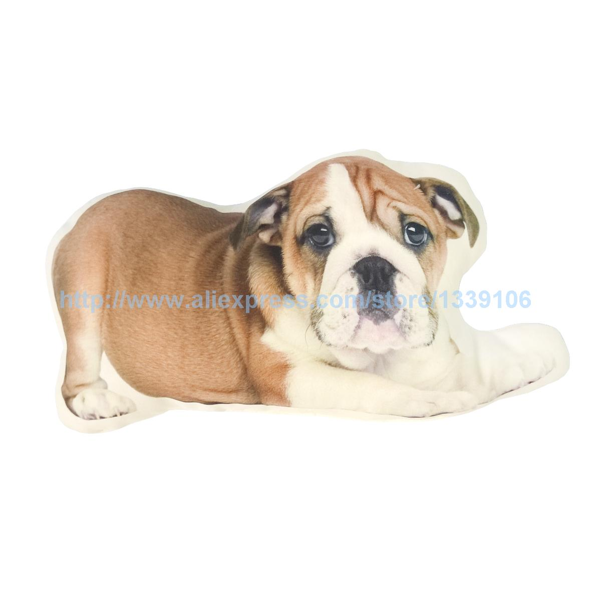 Lovely brown dog Print Custom Home Decorative Throw Pillow Cover Decorate Pillow Sofa Chair Cushion