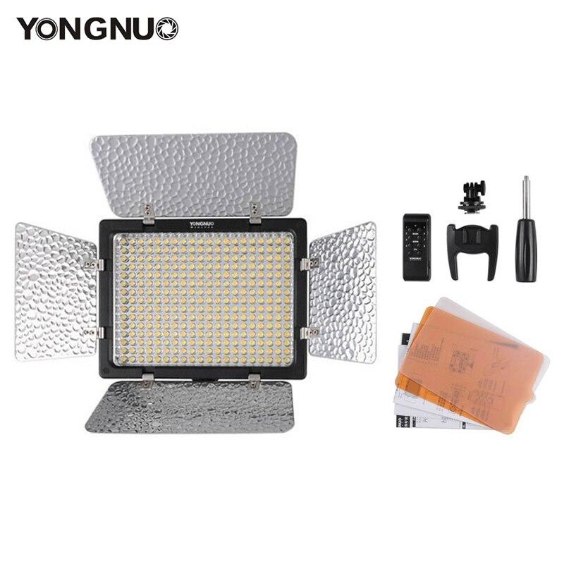 Yongnuo YN300 III YN-300 III caméra vidéo lumière LED 3200 K-5500 K avec température de couleur réglable pour Canon Nikon Pentax