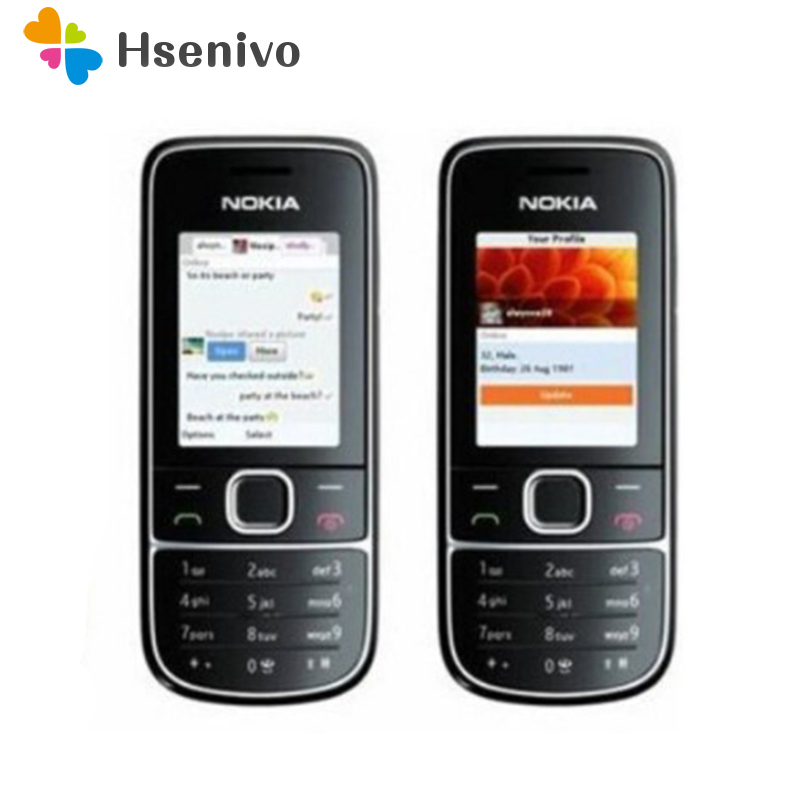 Original Nokia 2700C 2700 Classic Unlocked Mobile Phone GSM 2MP FM Mp3 Player Cheap Nokia Phone Free Shippping