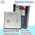 AMD APU A10-7800 ПРОЦЕССОРА Quad Core 3.5 ГГц 4 МБ Socket FM2 + кэш С Radeon R7 Настольный процессор НОВЫЙ Оригинальный коробка три лет