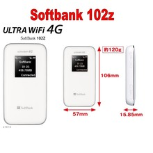 Лот 1000 шт. Zte 102Z Softbank Старт высоком Скорость Мобильный Wi-Fi 4 г Usim модем Мини Wi-Fi роутера